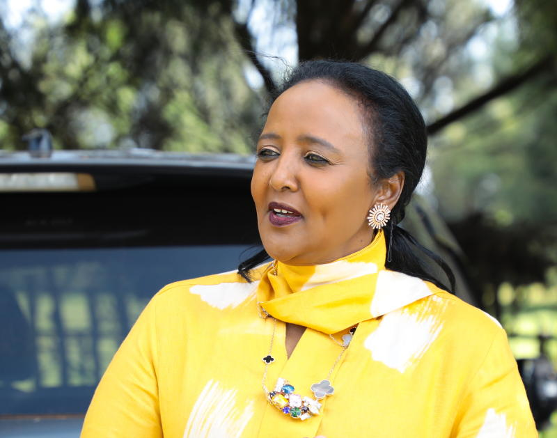 Amina: Repeated falsehoods will not help war on drug cheats : The standard Sports