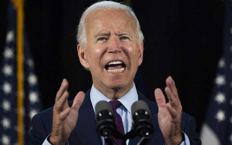 Biden calls Donald Trump's US Supreme Court push 'abuse of power'