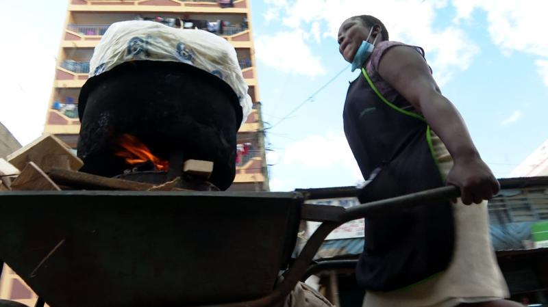 Boiling maize takes my children to school, says businesswoman
