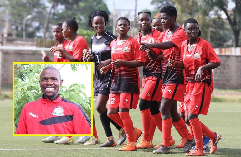 Charles Okere appointed Harambee Starlets head coach