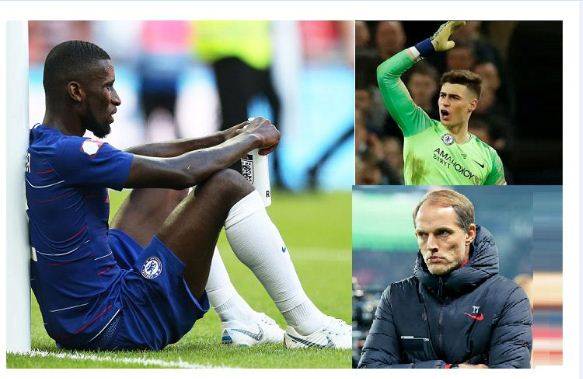 Chelsea defender Rudiger dismissed from  training by Tuchel after a bust-up with Kepa