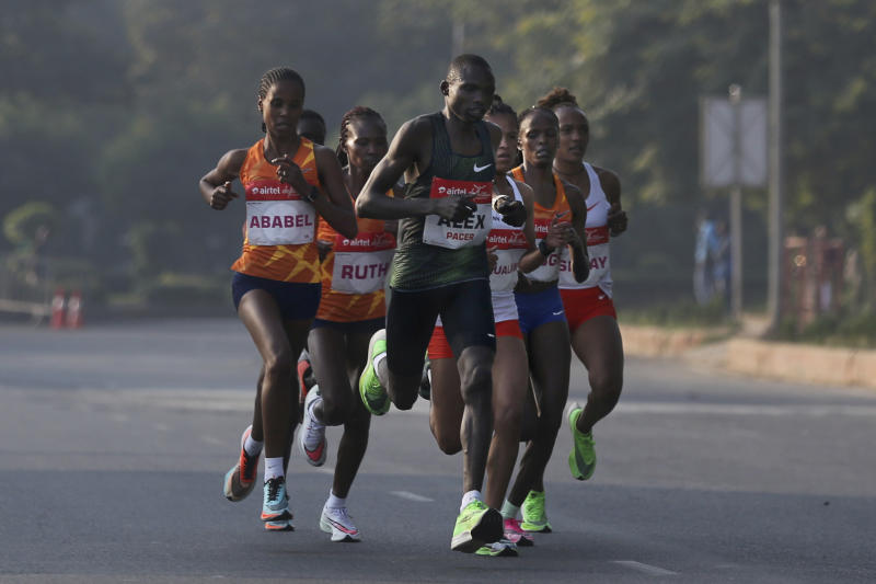Chepng'etich bows to Ethiopia's Yehualaw in New Delhi race