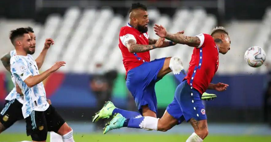 Chile to fine Arturo Vidal and team-mates for inviting a woman into their bubble