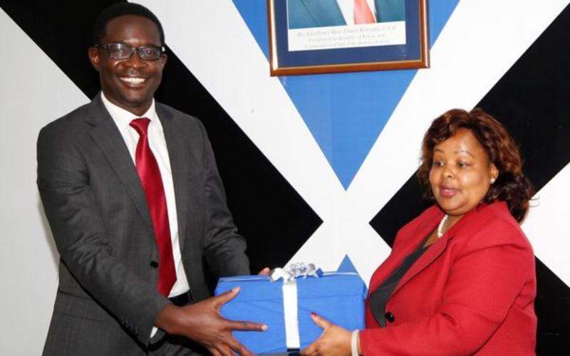 Ezra Chiloba takes over at Communications Authority