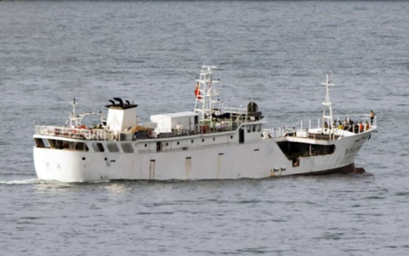 Chinese ship denied permission to offload body of a Kenyan