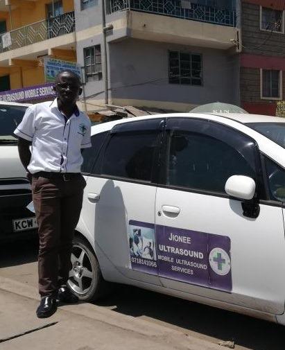 City businessman breaks 'pregnancy news' at your doorstep