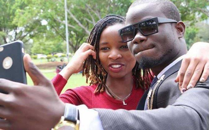 Comedian Mulamwa gifts wife 100k after delivering baby girl