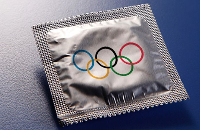 Olympic organisers to hand out condoms to athletes but for home use