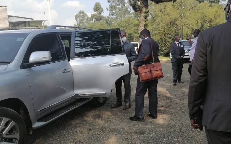 CS Mutahi chopper develops mechanical problems