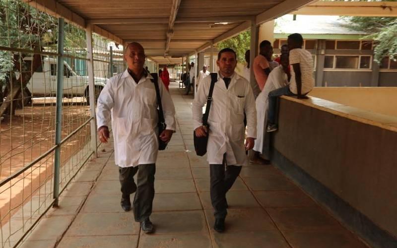 Cuba lauds Kenya's bid on missing doctors