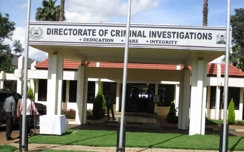 DCI to Kenyans: When mugged, report to police, not social media