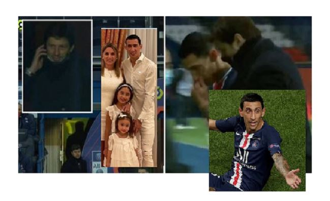 Di Maria forced to leave PSG game after news of robbery at his house