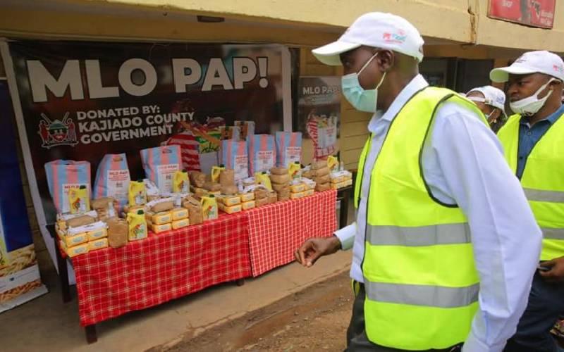 Duo builds online platform for relief food distribution