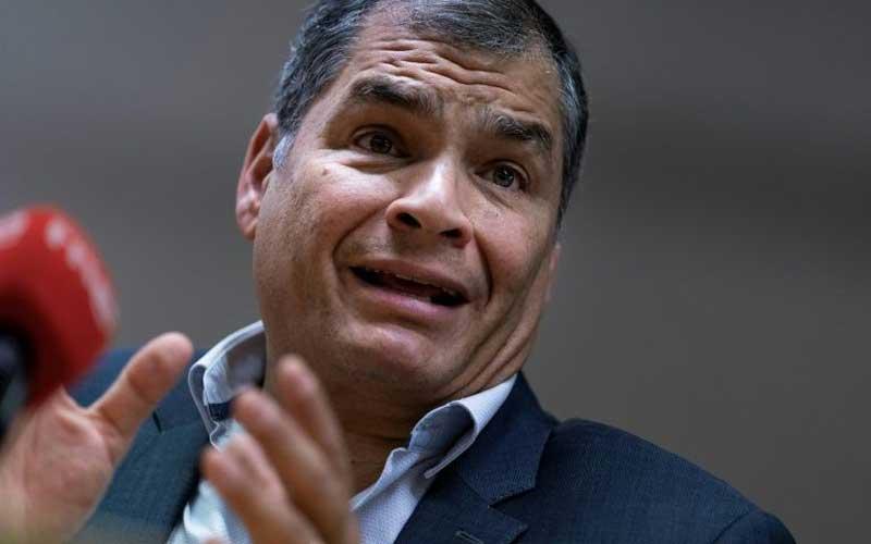 Ecuador electoral council suspends party of ex-president Correa