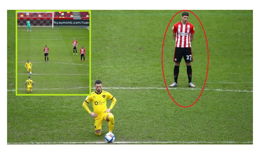 English football club Brentford explain why their players didn't take the knee