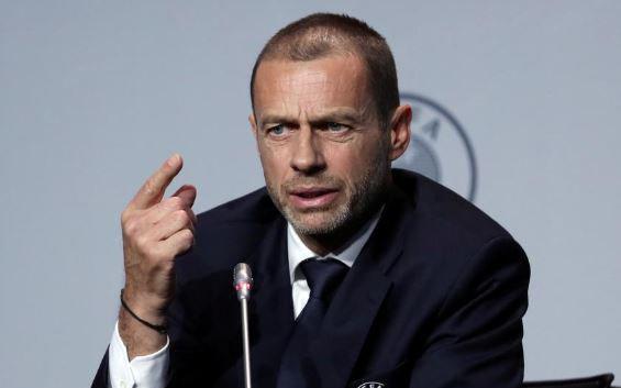 European season will finish in August, says UEFA president