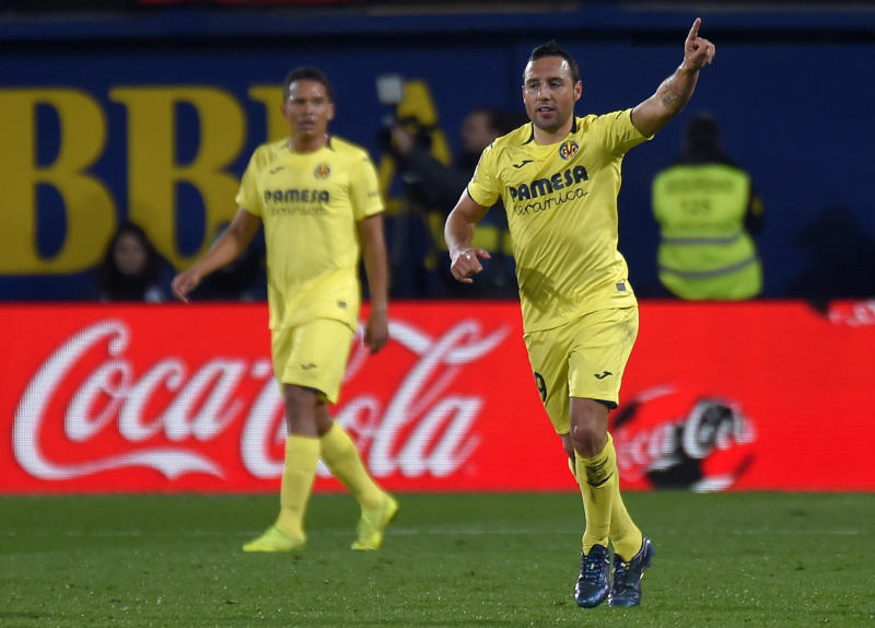 Ex-Arsenal midfielder Cazorla bids farewell to Villarreal