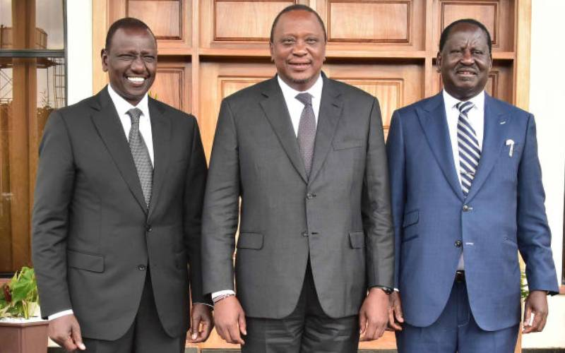 Eyes on president as he hosts succession front-runners