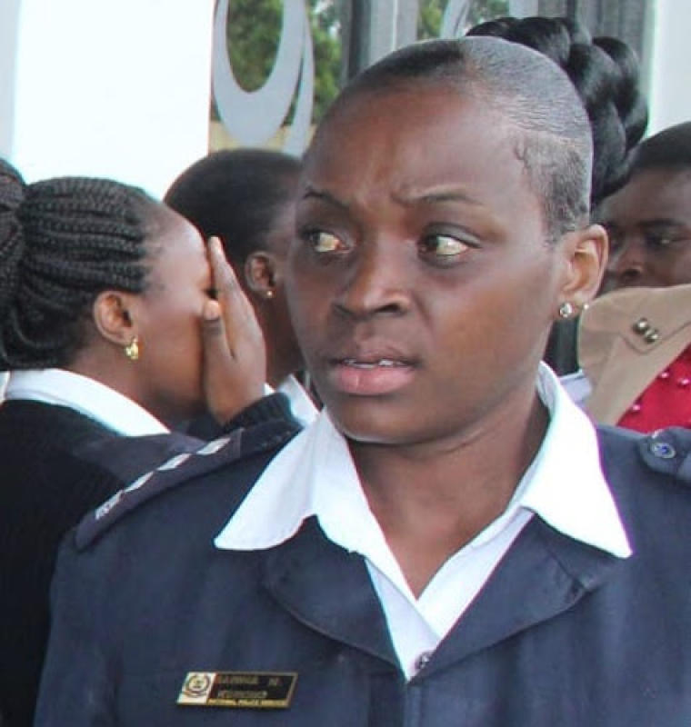 Could female cops be hiding behind stereotypes to clobber their husbands?