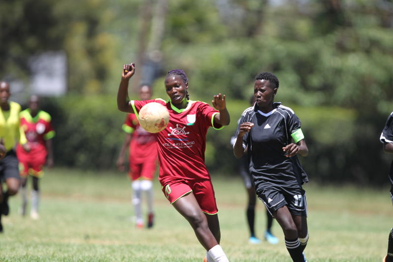 Gaspo, Ulinzi Starlets book spots in FKF Women Cup quarter finals