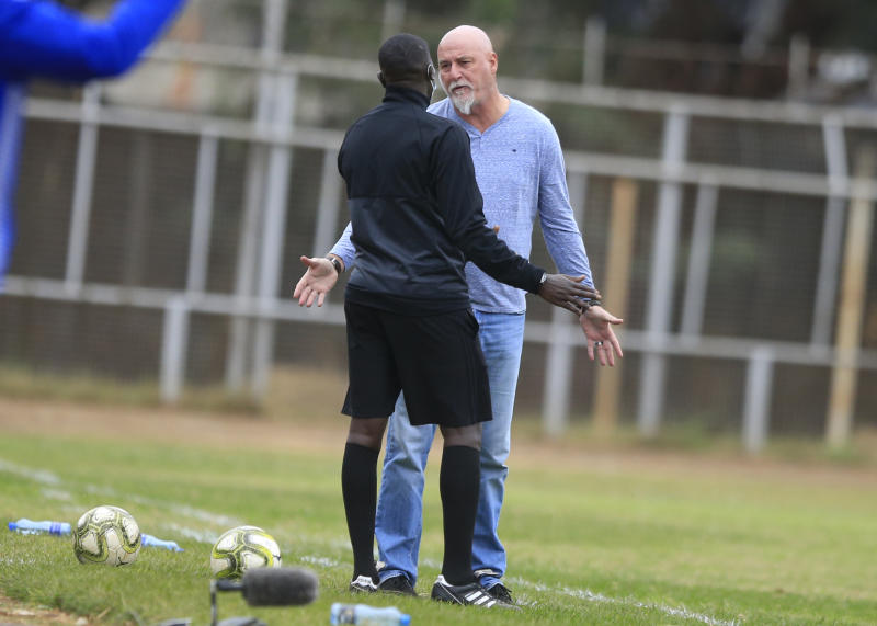 FKF-PL:  AFC coach Patrick Aussems unhappy with officials