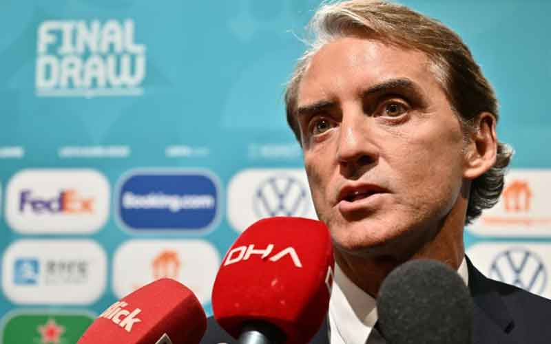 'Football can wait': Italy coach Mancini ready to play Euros in 2021