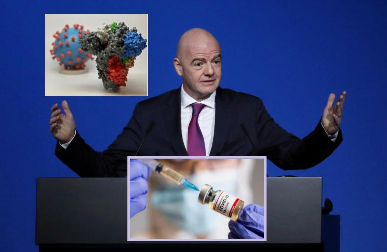 Footballers not a priority for vaccine, says FIFA president