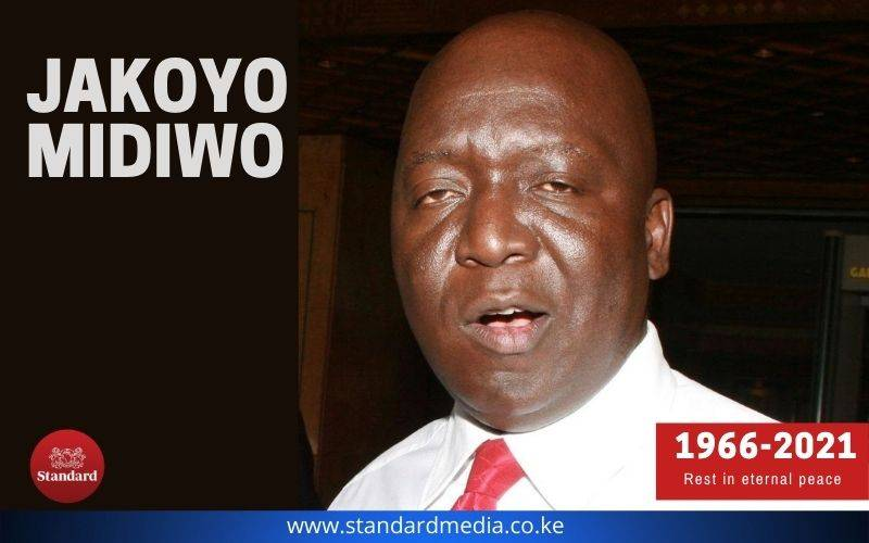Former Gem MP Jakoyo Midiwo dies at 54