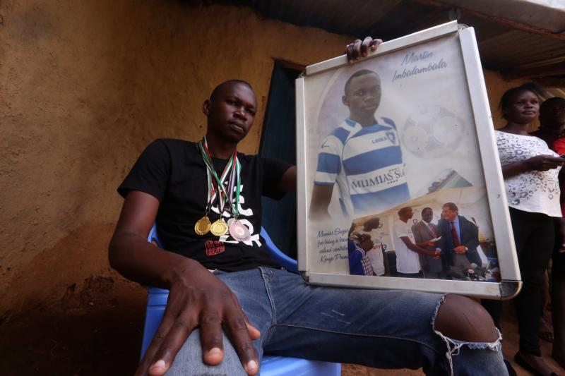 Former Ingwe captain: He's partially blind but Imbambala habours big dreams