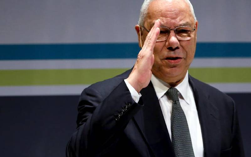Former US Secretary of State Colin Powell is dead