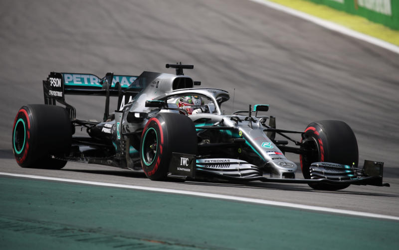 Formula One fires up, four months late and without a crowd