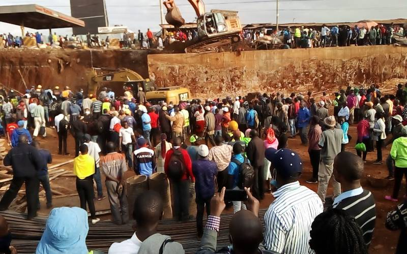 Four people rescued, several trapped as bridge collapses on Waiyaki Way