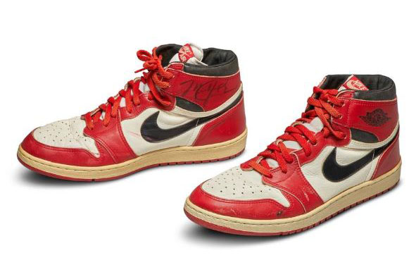 Game-worn Air Jordan sneakers sell for record-breaking Sh59 million