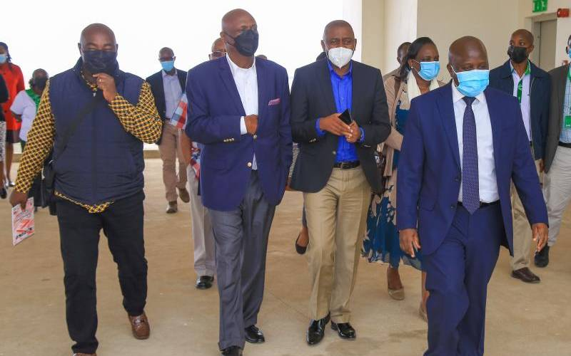 Gideon and ICT committee laud Konza City's project progress