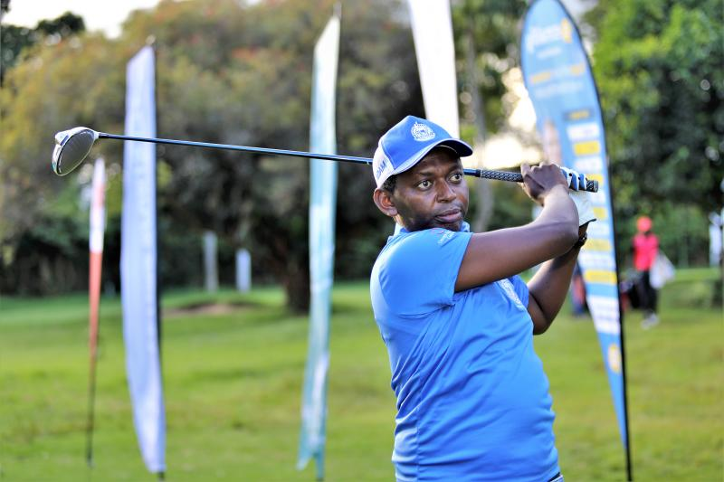 Golf: Imbugwa braves heavy rains to win VetLab Captain prize