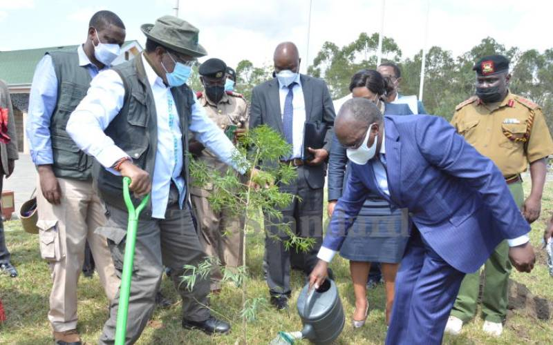 Government making huge strides to reduce air pollution, says CS