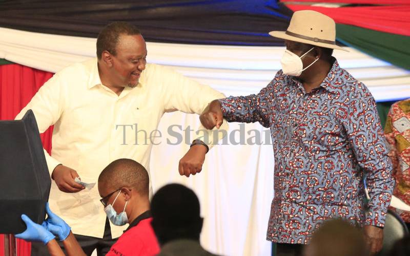 Grand plan behind Uhuru and Raila 2022 election coalition pact