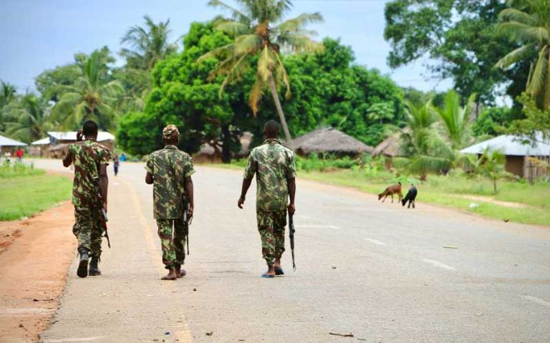 Gunmen kill 8 gas project workers in northern Mozambique
