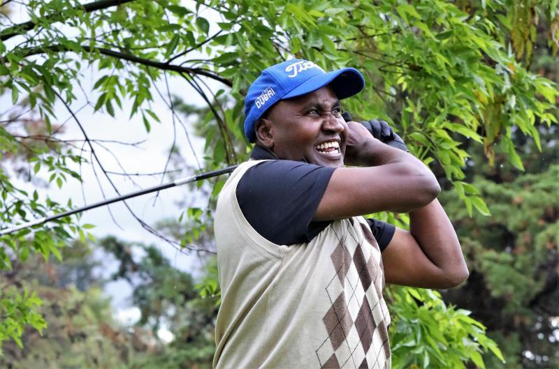 Handicap 8 Munene tops in Nyeri outing