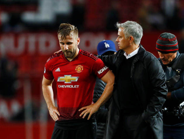 He did not like me – Luke Shaw opens up on relationship with Jose Mourinho