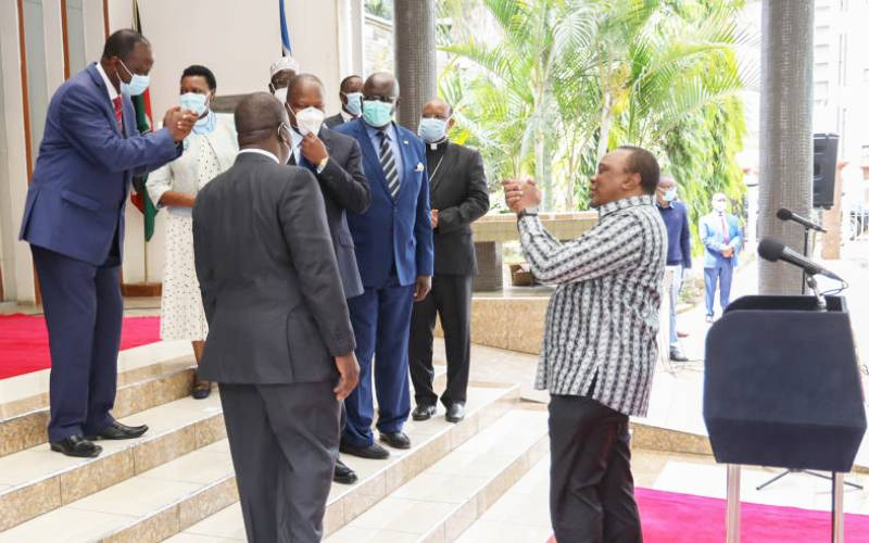 Health starts with you, says Uhuru as country reopens