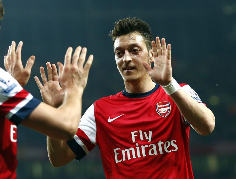 Here's Mesut Ozil's farewell message to Arsenal fans