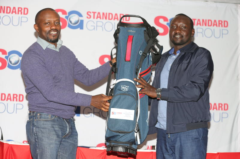 Home player Kiprono shines at Standard County Golf Classic