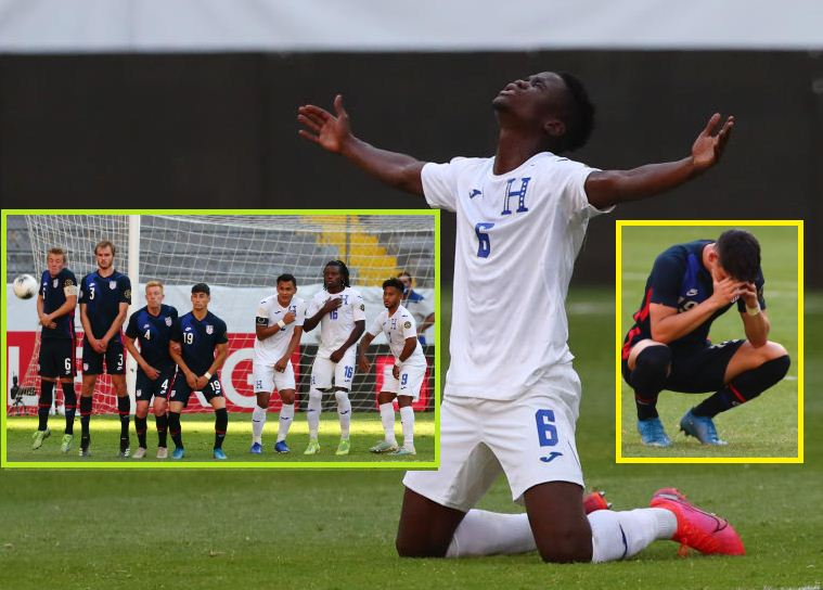 Honduras beat United States to qualify for Tokyo Olympics