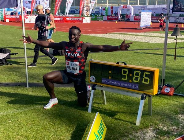 How 9.86 seconds have changed Ferdinand Omanyala's life