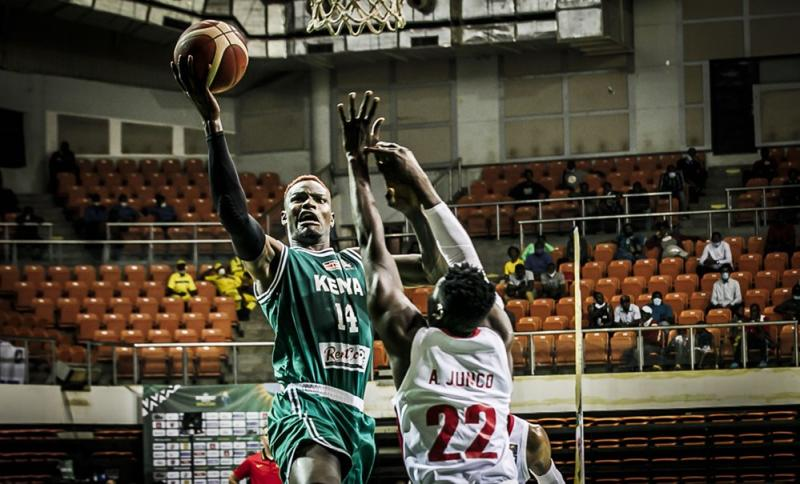 How Kenya Morans jumped over Angola