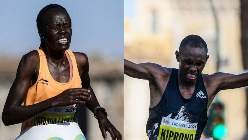 Kenyans take home men's, women's titles at Rome Marathon - The Standard
