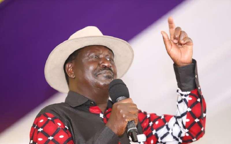 I am not too old to lead Kenya, says Raila