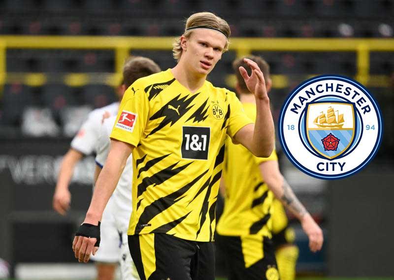 Inside Man City's push for Sh15 billion Erling Haaland transfer