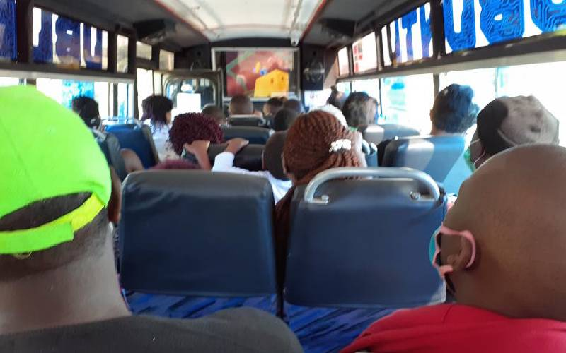 Is it okay to allow matatus to carry at full capacity?